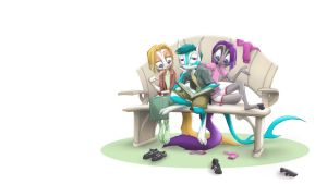 Evzen and Company desktop by Dreamkeepers