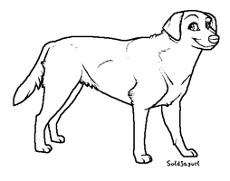 Dog Template by Soldjagurl