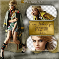Photopack Png Cara Delevingne by stephanyad