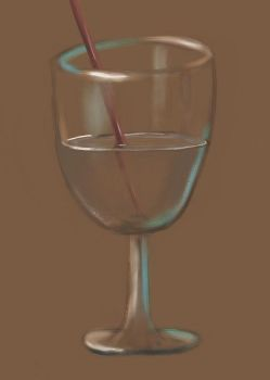glass painting with liquid 2 by hiten369