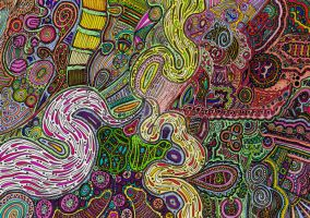 Psychedlic Animation 202 by CHoare