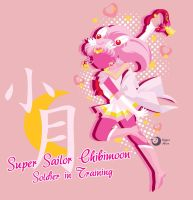Super Sailor Chibimoon T-Shirt Design by Sigma-Astra