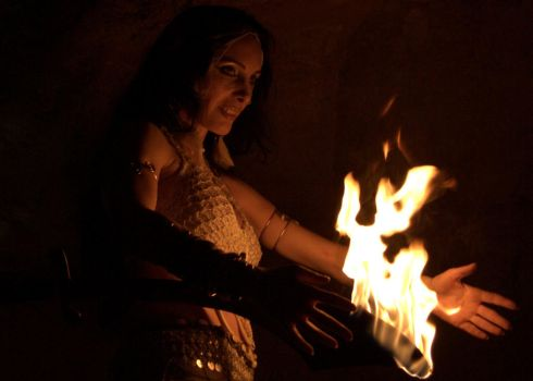 Fire Sorceress 4 by aliceinflames