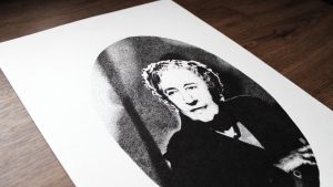 Agatha Christie by DanielPoint
