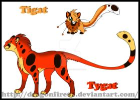 004-005: Tigat and Tygat by DracoFeathers