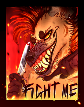 FIGHT ME! {Art Fight} by NoteS28