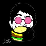 Vampire Dude and a Burger by DEATH989