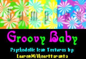 Groovy Baby Icon Textures by ihearttoronto