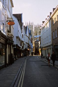 Streets of York late on by Hard-to-handle