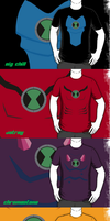 Ben 10 Alien T-shirts by RandomDraggon