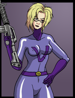 Purple Vixen henchgirl by Shabazik