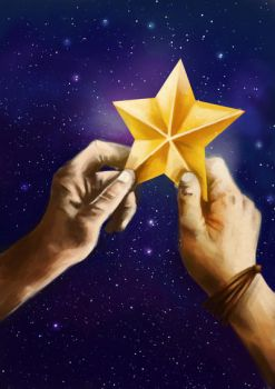 Hands Holding Star by N8watcher