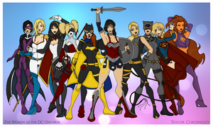 The Women of the DC Universe Redesigned by Femmes-Fatales