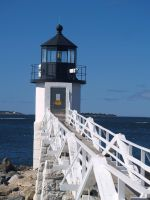 Marshall's Point Light by davincipoppalag