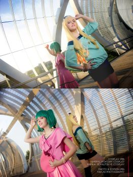Sheryl and Ranka by kokoammm