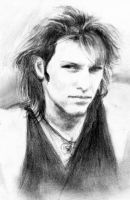 Jon Bon Jovi 93 - First sketch by akaLilith