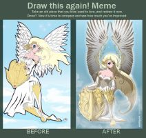 Draw it again meme by Mistiqarts