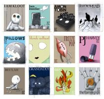 Stamps 01-12 CD Cover. by princepoo