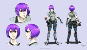 Project Nex Character by Trebuxet