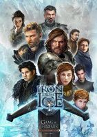 Iron From Ice by ertacaltinoz