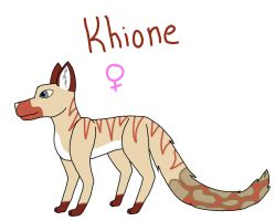 Khione Reference by crisisangelwolf