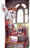 Sally Whitemane by Cecaangyal