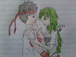 Request: Ryu x Morrigan by LeMiles13