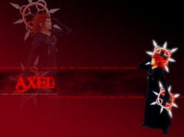 Axel Wallpaper by chibimizuthing