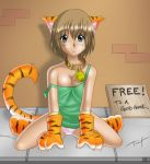 Free catgirl for a good home by Twokinds