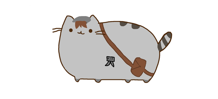 Ghost pusheen
