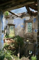 Abandoned village Stock 08 by Malleni-Stock