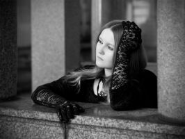 Gothic contemplation by gdelargy