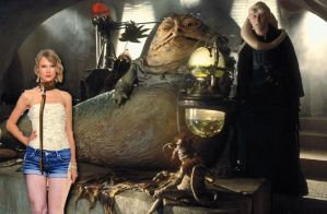 Taylor swift befor put in to carbonite jabba slave by willartmaster