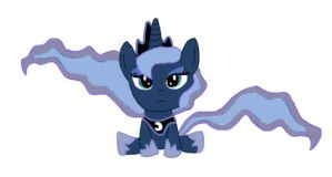 Chibi Luna Colored by Neighthirst