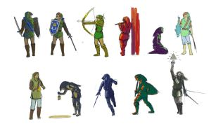 Link Sketches by AnthonyPismarov