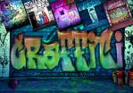 Graffiti Backgrounds by mystikel