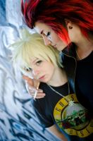 Akuroku - Burning Desire by FlaminGay