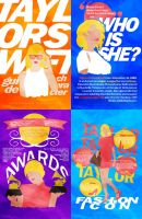 Taylor Swift :: A POSTER SERIES by Diagonas