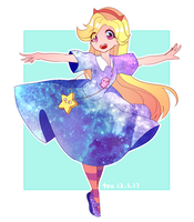 Star Galaxy (2) by Aka-no-Sekai