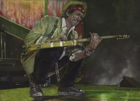 Keith Richards by HendrikHermans