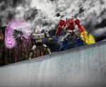 The Battle at Sherman Dam [Photoshop] by rockdog80