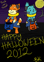 Halloween 2012 by BuizelKnight