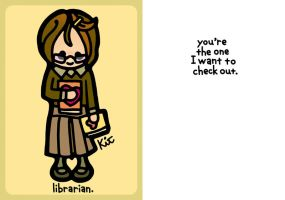 librarian. by kitskids