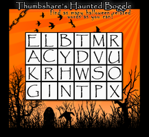 ThumbShares Haunted Boggle by lenavvargo