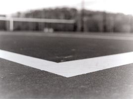 tennis court by sonofdirk