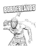 Borderlands Game Cover by that1artguy