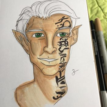 Finished Rowan Whitethorn  by z20918