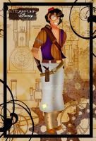 Steampunk Aladdin by HelleeTitch