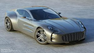 Aston Martin One - 77 by DutaAV
