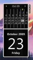 OS X Calendar for Rainmeter by asilaydyingdl
